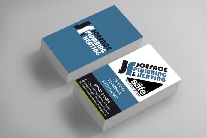 Joe race plumbing heating business cards robinson digital joe race plumbing heating business cards colourmoves