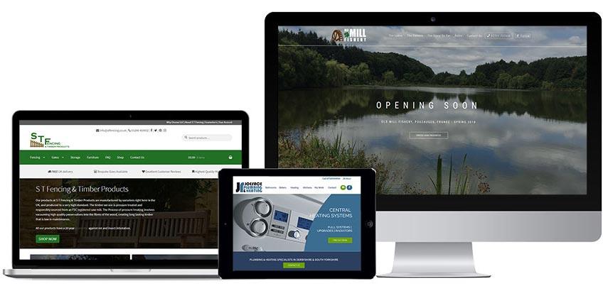 Multi device compatible web design